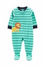 Yeşil Erkek Çocuk Tekli Pijama Tulum