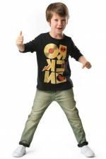 Rocker Dj Renkli Denim Takım