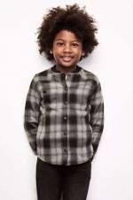 Erkek Çocuk Ekose Gömlek 18FW0RF3605