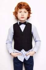 Erkek Çocuk Mavi Gömlek 18FW0RF3601