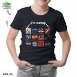 Metallica - Album Covers Siyah Çocuk Tshirt