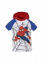 Ultimate Spider-Man Erkek Çocuk Kapüşonlu Kısa Kol Sweatshirt Beyaz 15YECSSRT1323_00-0001