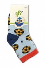 Erkek Çocuk Açık Mavi Havlu Soket Çorap